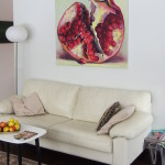 Buy original contemporary pomegranate paintings by Kamille Saabre