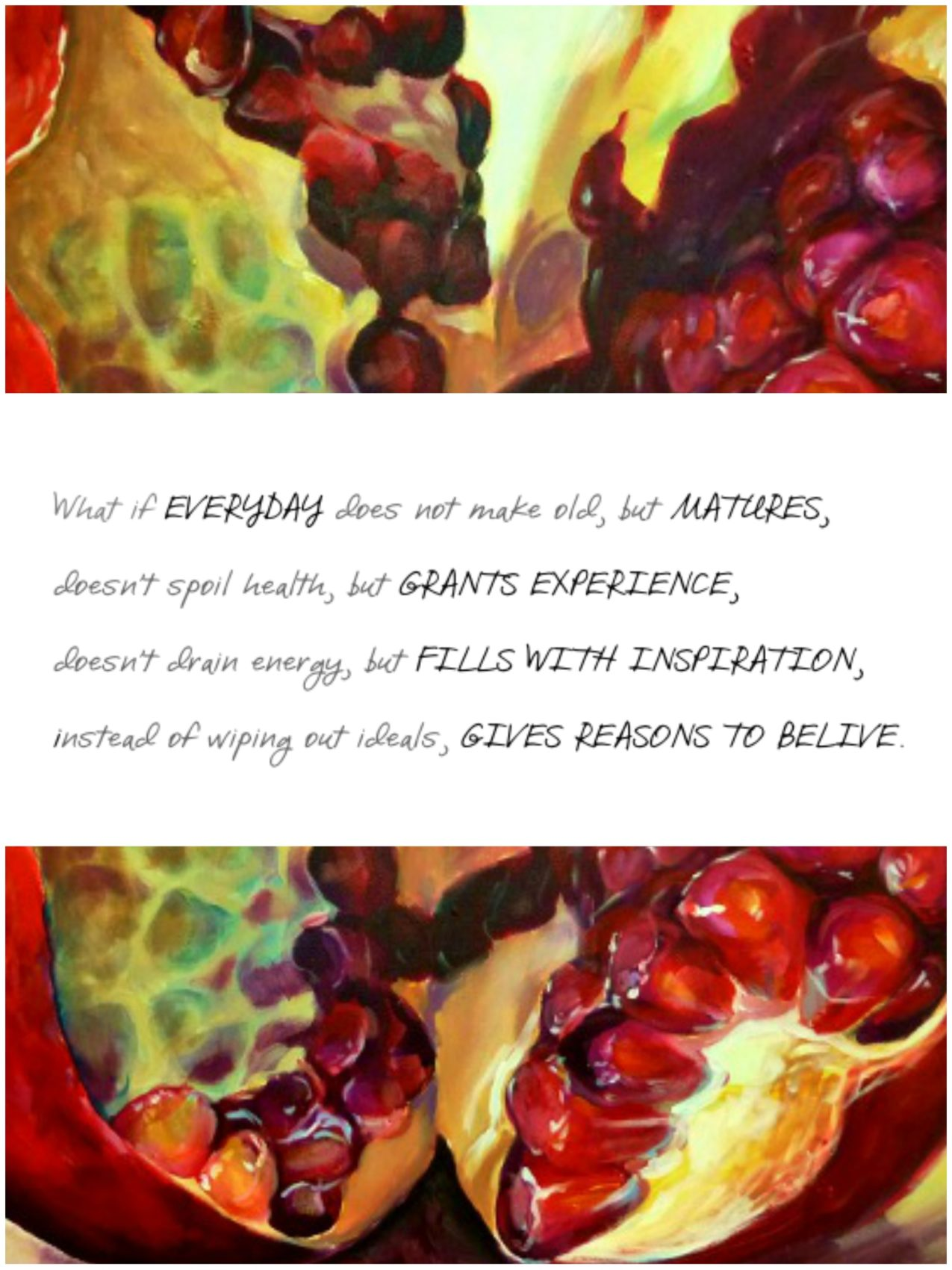 Kamille Saabre Paintings quote
