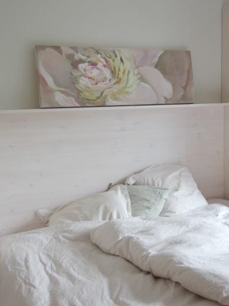 Kamille Saabre Peony painting