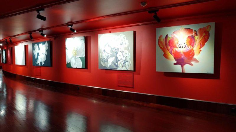 Kamille Saabre maalid Alexela Kontserdimaja