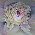 White Peony Paintings on canvas