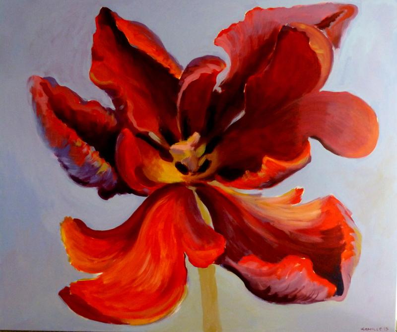 Lillemaal, Kamille Saabre, maalid