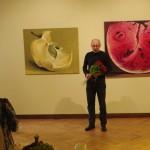 Kamille Saabre maalid Toompea lossi kunstisaalis