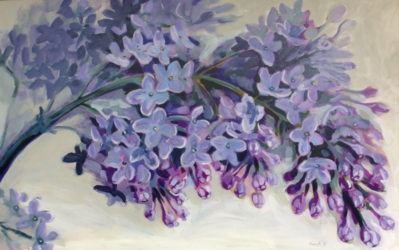Lilac Painting, lillemaalid