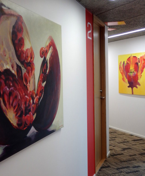 Kamille Saabre maalid Sakala Hambaravis