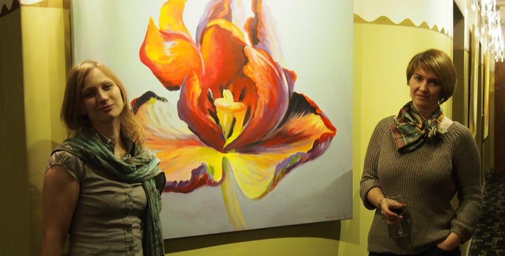 Kamille Saabre maalid Draamateatris