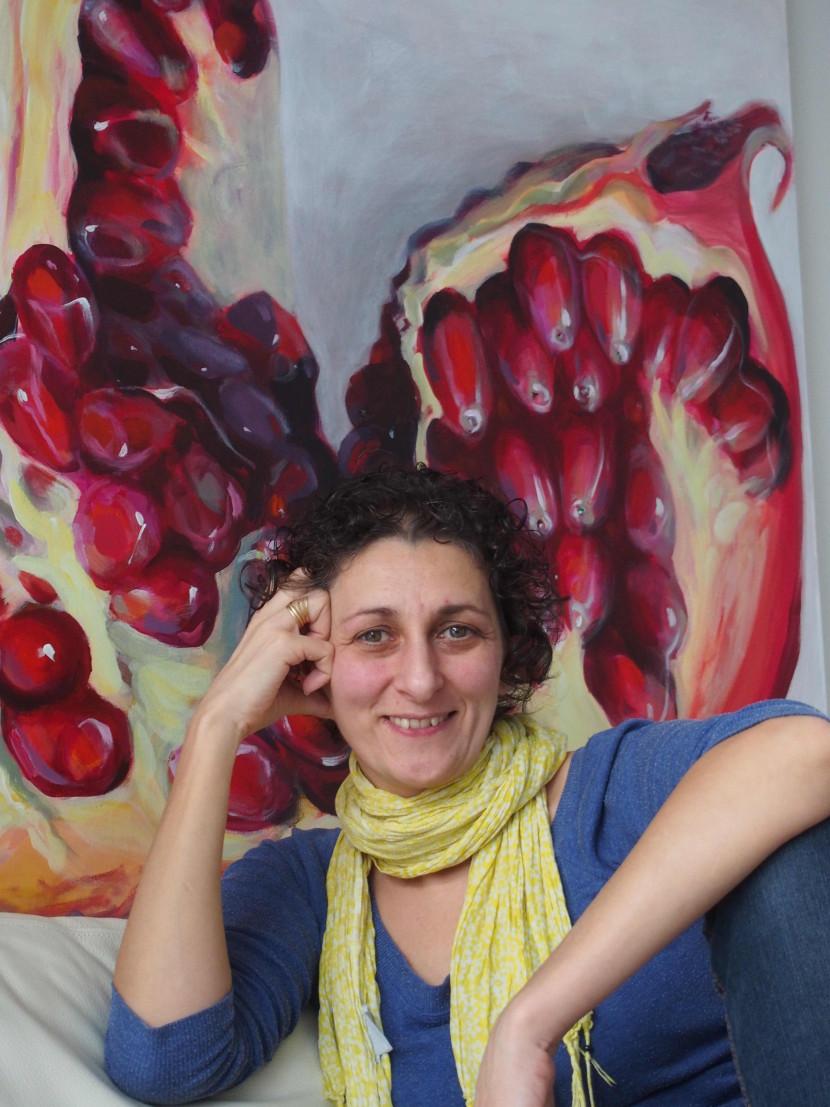Kunstnik Kamille Saabre