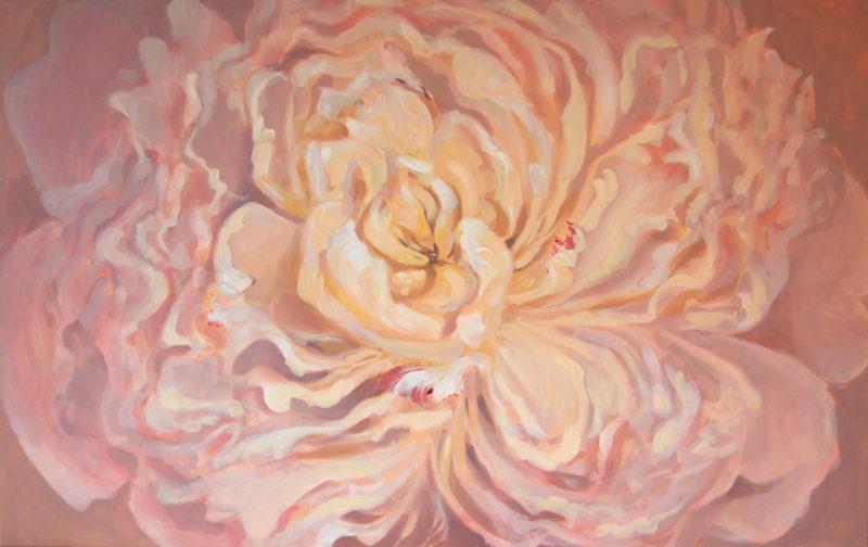 Peony Painting, pojengi maal