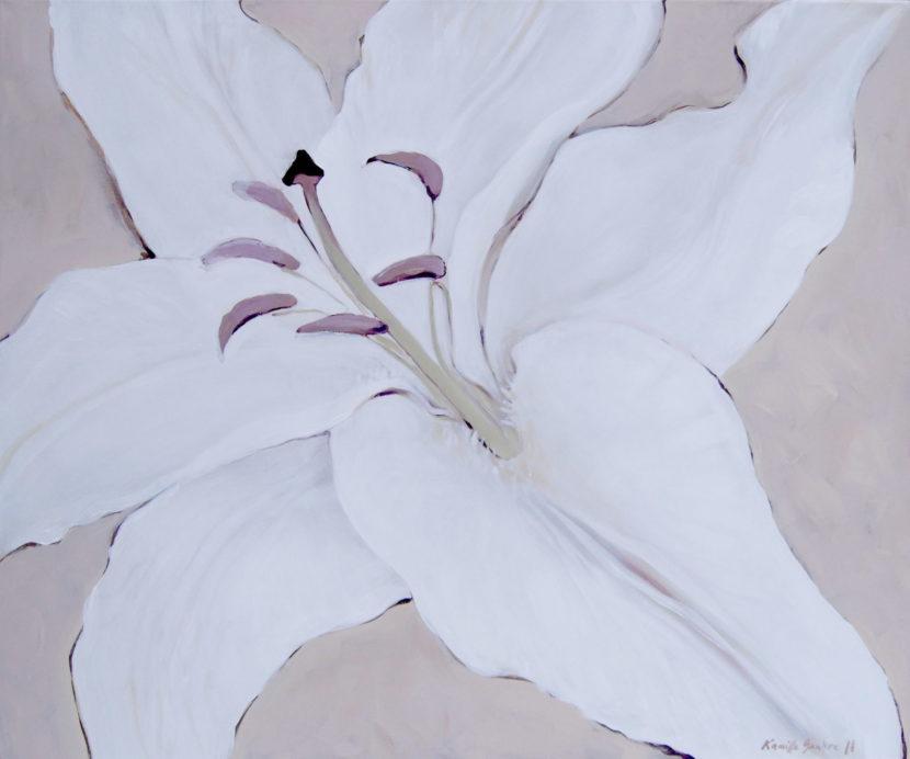 lillemaal, painted lily, liiliamaal, LillemaalidViimsi Jaakobi kirikus