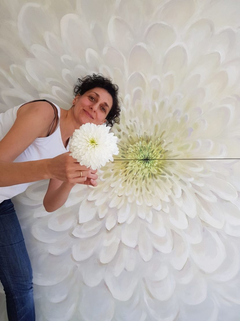 Kamille Saabre painting